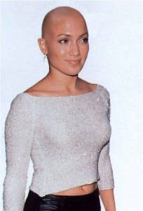 Jennifer lopez gets shaved bald